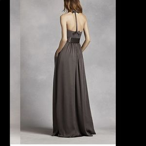 Marine blue Vera wang dress